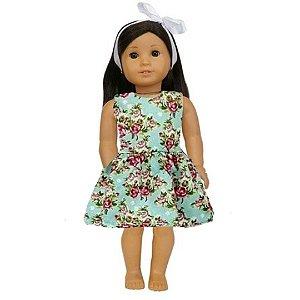 Vestido Boneca Tiffany American Girl