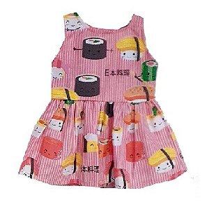 Vestido Boneca Sushi Bebê Reborn
