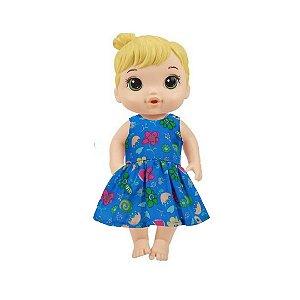 Vestido Boneca Royal Baby Alive