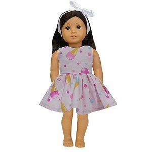 Vestido Boneca Sorvete American Girl