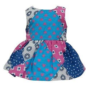 Vestido Boneca Patch Bebê Reborn