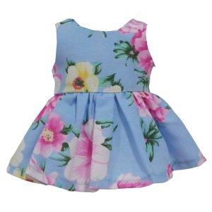 Vestido Boneca Rosas Bebê Reborn