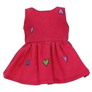 Vestido Boneca Amor Baby Alive