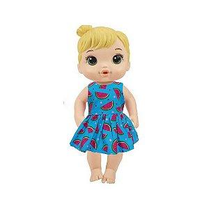 Vestido Boneca Melancias Baby Alive