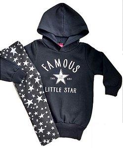 Conjunto com Legging Star Preto
