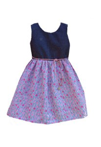 Vestido Petit  Composê Listras