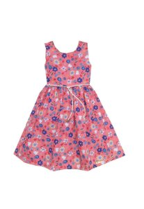 Vestido Petit Coral Flores