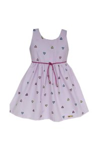 Vestido Petit Amor Rosa