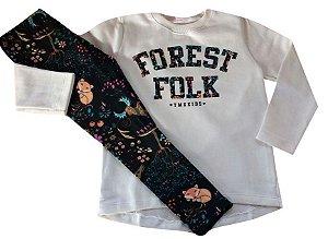 Conjunto Forrest Folk Marfim