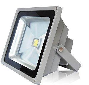 Refletor de LED 50w Branco à prova D' água IP65