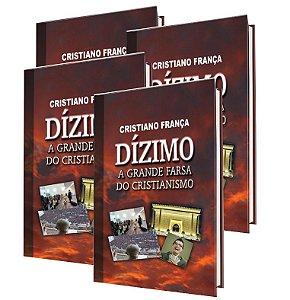 (6) Kit: 4 livros Dízimo: a grande farsa