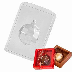 Forma Chocolate Bola Natal Diamantada G Ref FP151 - 2 formas