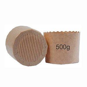 Forma de Papel para Panetone 500g Forneável Lisa - 100 unid