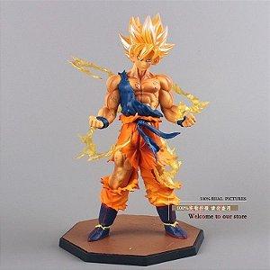 Anime Dragon Ball Z Super Saiyan Goku