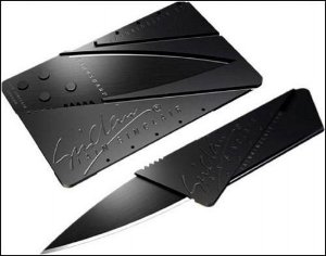 Faca Cartão Iain Sinclair Card Sharp Dobrável