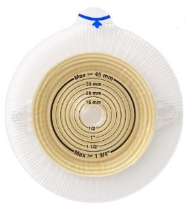 Alterna Espiral TERA Base Adesiva Plana para Estomias - Coloplast