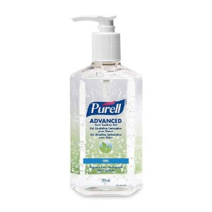 Purell Advanced Gel Alcoólico Antisséptico para Mãos Pump 354mL