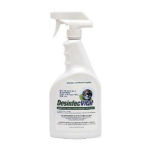 Desinfec Vital 500ML / 1L Desinfetante Hospitalar Pronto Uso