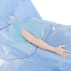 Campo Cirúrgico SMS Reforçado para Artroscopia Ombro com Bolsa Coletora Halyard