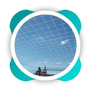 Rede de Proteção Esportiva Sob Medida para Cobertura de Quadra de Futsal, Campos Futebol e Society Fio 2mm Malha 10cm Nylon