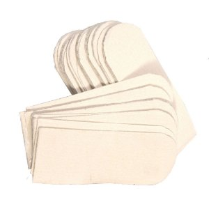 Lixas Descartáveis Para Pedicure Refil - Branca c/50