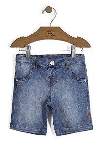 Bermuda Jeans Bebê - Up Baby