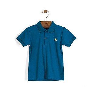 Camisa Polo em Suedine - Cores Diversas - Up Baby