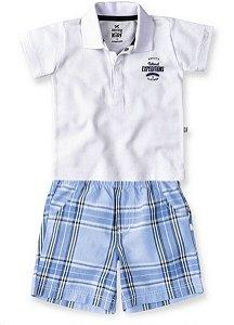 Conjunto Polo e Bermuda - Hering Kids