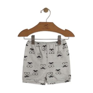 Short em Suedine Estampado - Up Baby