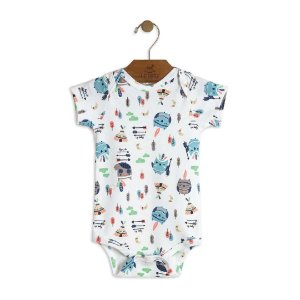 Body em Suedine Estampado - Up Baby