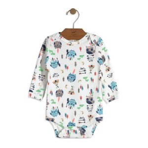 Body Estampado Manga Longa - Up Baby