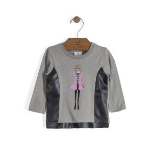 Blusa Manga Longa Girl - Up Baby