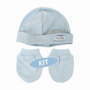Kit Touca e Luvas - Mini Baby