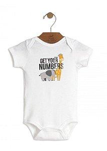 Body Branco Animais - Up Baby
