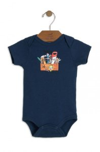 Body Azul Ferramentas - Up Baby