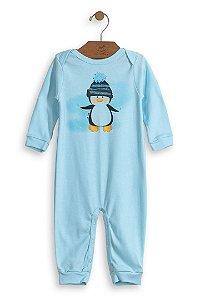 Macacão Manga Longa Pinguim - Up Baby
