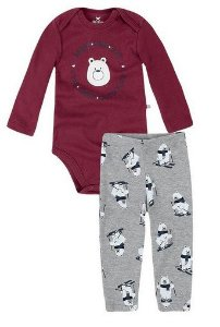 Conjunto Urso Masculino - Hering Kids
