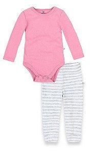 Conjunto Básico Bebê Menina - Hering Kids