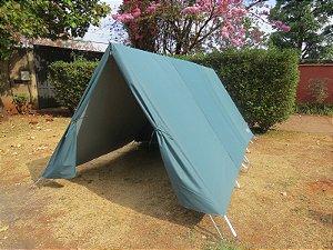 Barraca de Camping Modelo Canadense Natura 5 Lugares Com Avance/Extensão Aberto (Varanda)  Personalizada / Customizada / Coloridas / Silcadas / Estampadas Gripa Tents Especial Diversas Cores