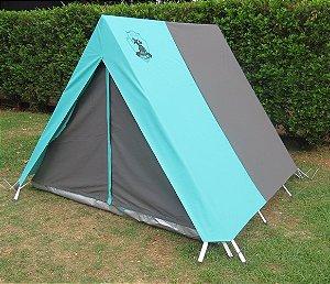 Barraca de Camping Modelo Canadense Natura 5 Lugares Personalizada / Customizada / Coloridas / Silcadas / Estampadas Gripa Tents Especial Diversas Cores