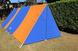Barraca de Camping Modelo Canadense Natura 5 Lugares Com Avance/Extensão  Fechado (Varanda e Porta) Personalizada / Customizada / Coloridas / Silcadas / Estampadas Gripa Tents Especial Diversas Cores