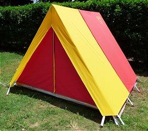 Barraca de Camping Modelo Canadense Natura Gripa Tents Desbravador Aventureiro Escoteiro Personalizada Customizada Colorida