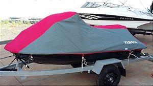 Capa/Lona de Cobertura Armazenamento Para Proteção e Transporte Para Jet Ski Moto Aquatica  Em Nylon 600
