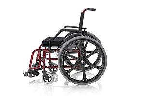 Cadeira De Rodas Pneu Inflável Elite - Suporta 100 Kg - Prolife