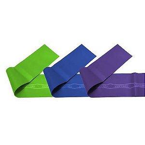 Faixas Elásticas Mini Band 45cm x 10cm