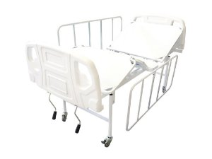 Cama Hospitalar Manual 2 Movimentos Semi Luxo