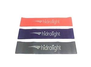 Kit Mini Bands Hidrolight Com 3 Níveis De Resistência