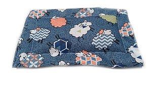 Bolsa Térmica de Sementes para Bebê Ovelhinhas 12 x 10Cm