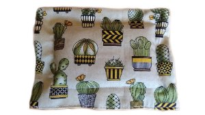 Bolsa Térmica de Sementes para Bebê Cactus 17 x 13Cm