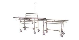 Carro  Maca para Transferência de Paciente Inox